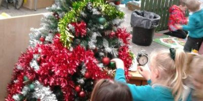 It's Christmas in Home Corner!