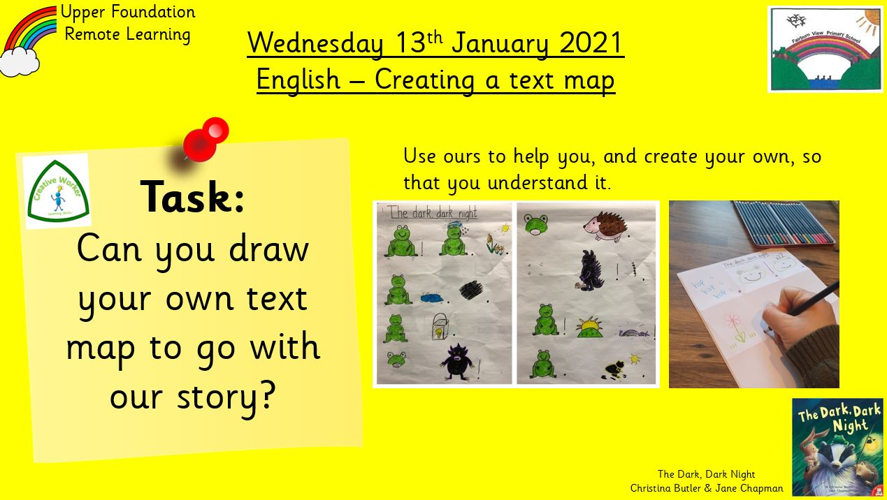 13.1.21 English: Creating a text map