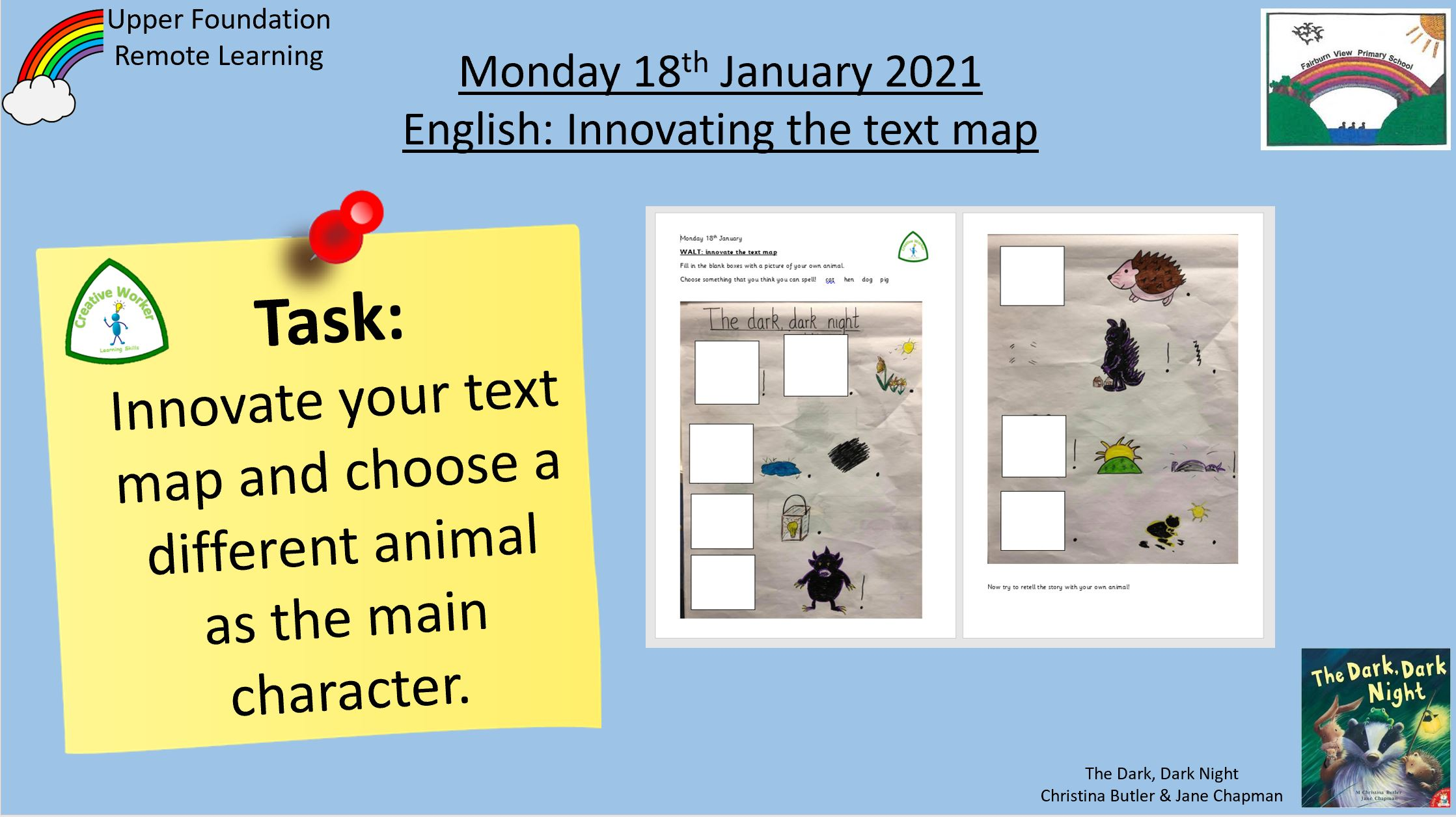 18.1.21 English: Innovating the text map