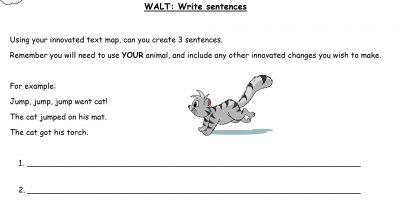 19.1.21 English: Create Sentences