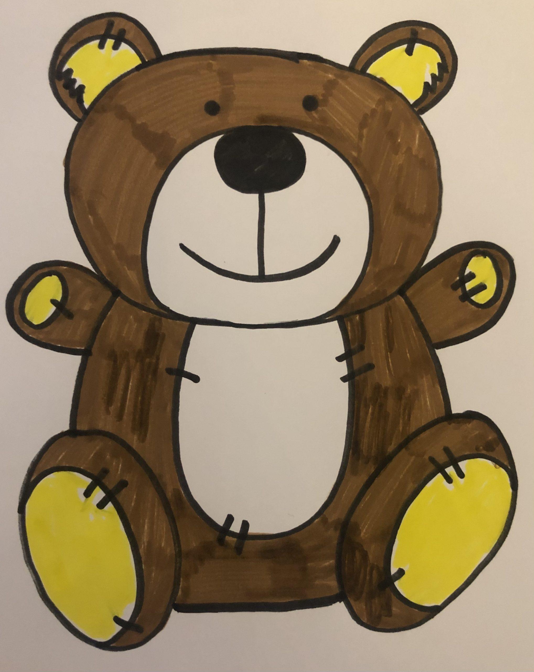 Drawing Barney Bear