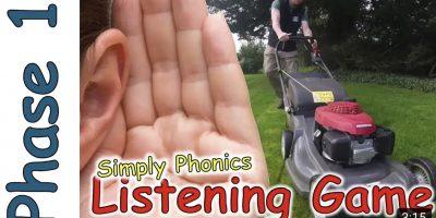 Phase 1 Phonics – Listening