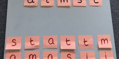 Phonics – letter matching