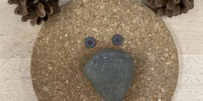 Transient Art – Making bear faces