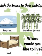 Knowledge and Understanding of the World – Bear Habitats