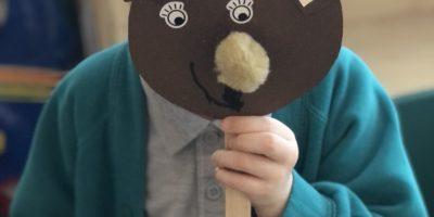 How to make a bear mask