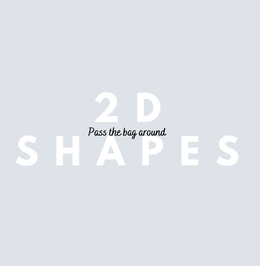 Can you name your 2D shapes