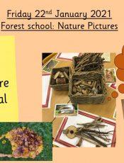 22.1.21 Forest School Friday: Transient Art