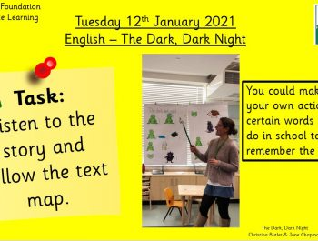 12.1.21 English: Learning the text