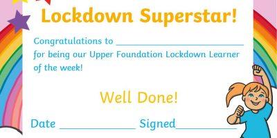 Lockdown Learner of the Week!