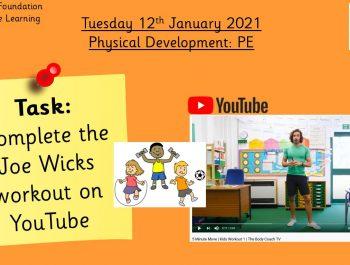 12.1.21 Physical Development: PE