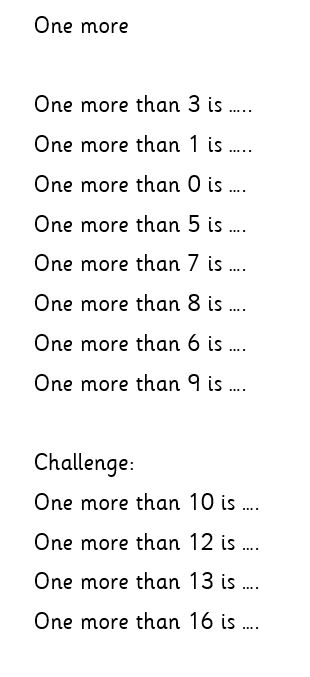 Monday Maths 1W group (one more)