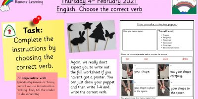 4.2.21 English: Choose the correct verb