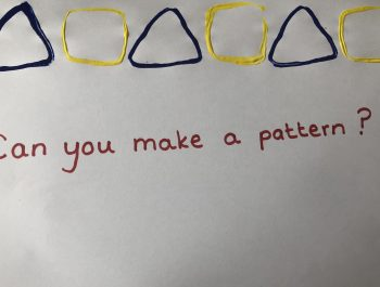 Can you make a shape pattern?