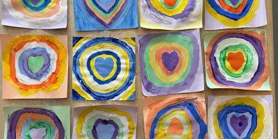Kandinsky – hearts