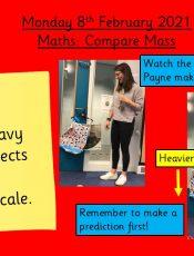 8.2.21 Maths: Comparing Mass