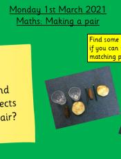 1.3.21 Maths: Making a Pair