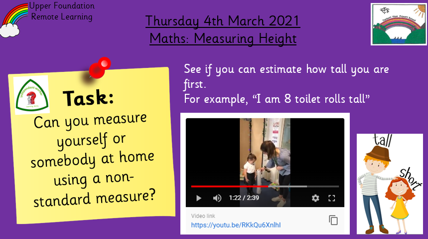 4.3.21 – Maths: Measuring Height