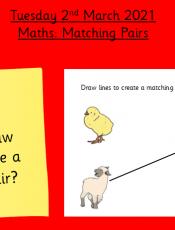 2.3.21 Maths: Make a matching pair