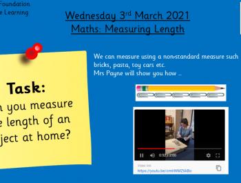 3.3.21 Maths: Measuring Length