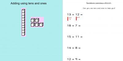 Thursday 25th February 1W Maths