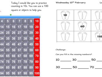 Wednesday 10th February 1W Maths