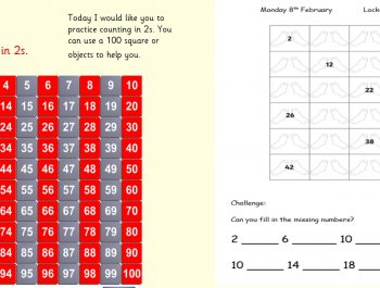 Monday 8th February 1W Maths
