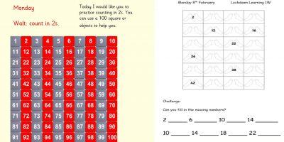 Monday 8th February 1W Maths