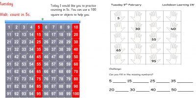 Tuesday 9th February 1W Maths