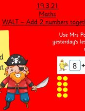 19.3.21 UFS Maths: Pirate addition!