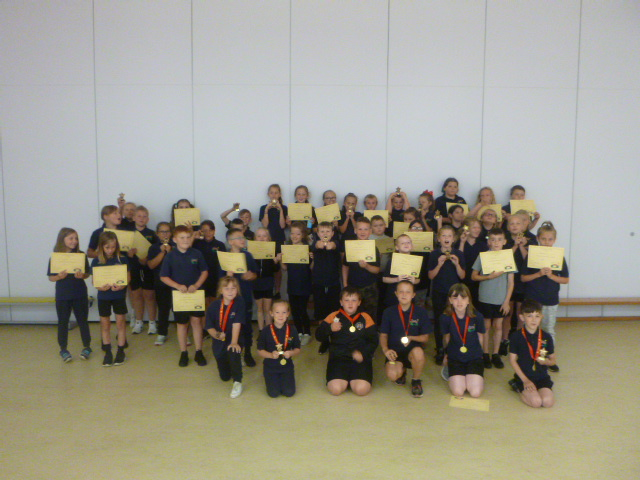 Year 4 Rewards Assembly